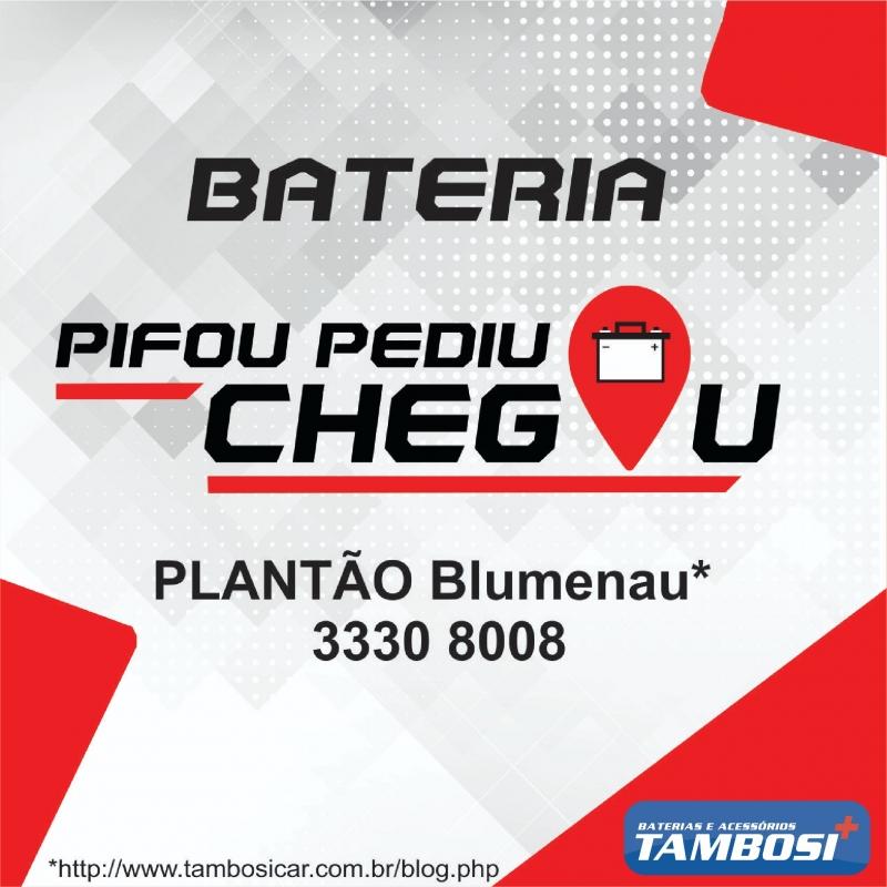 Plantão de Baterias